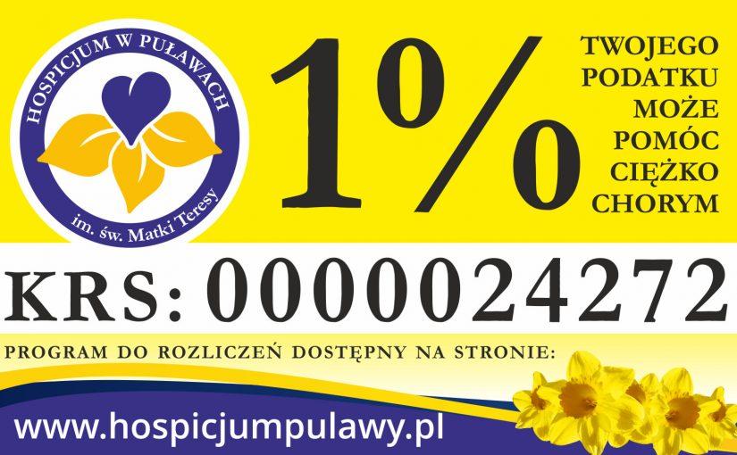 1% podatku – 2019 rok!